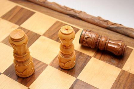 Schachmatt: K�nig st�rzte, Matt