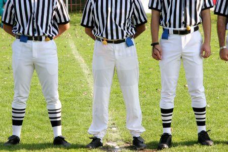 linesman: referee Stock Photo