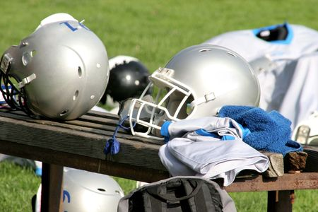 American football, during training Stock Photo - 696558