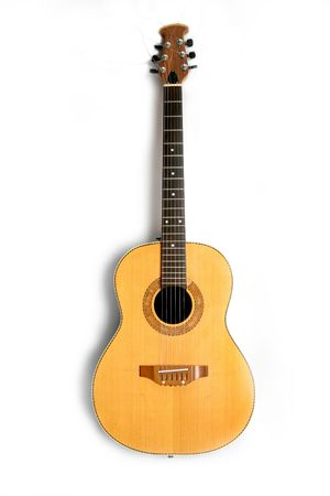 melodies: guitar in isolated