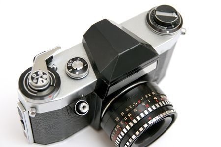 SLR photo camera photo
