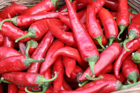chilli red: chile rojo en fr�giles