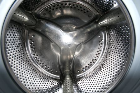 details interior view of a Washing machine Stock Photo - 2466118