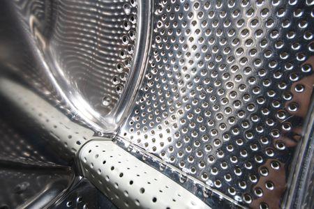 details interior view of a Washing machine photo