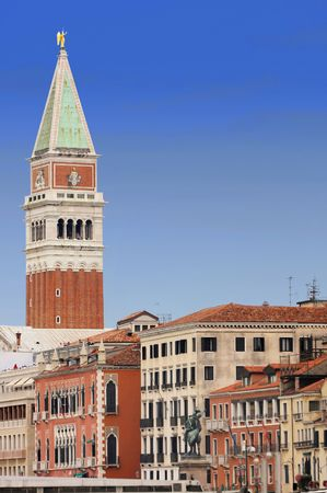 details Piazza San Marco in Venice, Italy photo