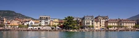 vevey: details view of panorama Vevey (Vaud), Geneva lake, Switzerland