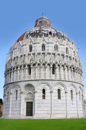 The Baptistry of St. John in Pisa, Tuscany, Italy  photo