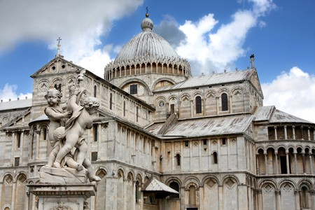 Duomo Cathedral  in Pisa, Tuscany, Italy  photo