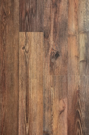 wood laminate: Details of Brown wood texture in closeup Stock Photo