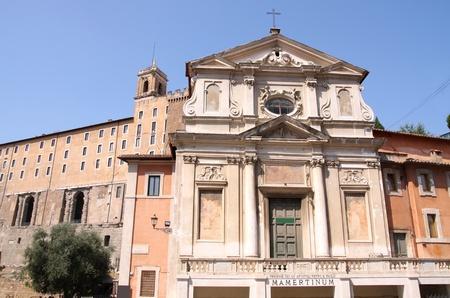 ancient prison: Mamertine prison in Rome, Italy