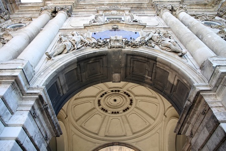 detalles del Castillo de Buda en Budapest, Hungría Foto de archivo - 12383253