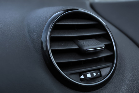 Details of air conditioning  car ventilation system  in modern car photo