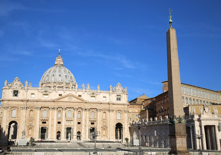 pietro: Basilica di San Pietro, Vatican City, Rome, Italy Stock Photo
