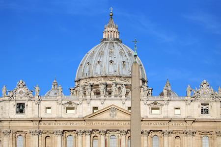 vatican city: Basilica di San Pietro, Vatican City, Rome, Italy Stock Photo