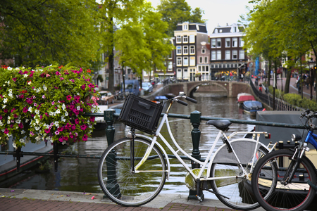 netherlands: details of beautiful Amsterdam, Netherlands
