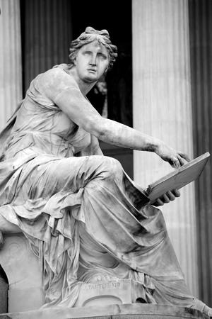 mythology: Pallas-Athena-Brunnen Fountain of the Austrian Parliament in Vienna, Austria