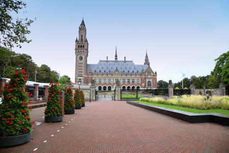 international organization: The Peace Palace - International Court of Justice in The Hague, Holland Editorial