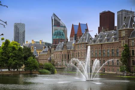 Binnenhof Palace, Dutch Parlament in the Hague, Netherlands