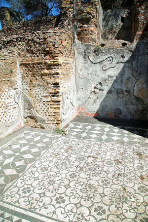 adriana: Ancient ruins of Villa Adriana ( The Hadrians Villa ), Hospitalia, Tivoli, Italy