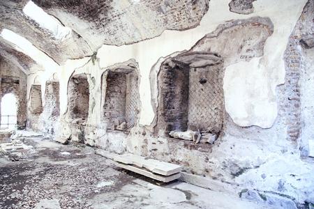 adriana: Ancient ruins of Villa Adriana ( The Hadrians Villa ), Tivoli, Italy Stock Photo