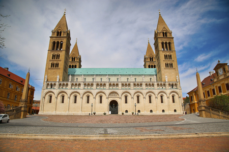 pecs: Basilica of St. Peter & St. Paul, Pecs Cathedral in Hungary