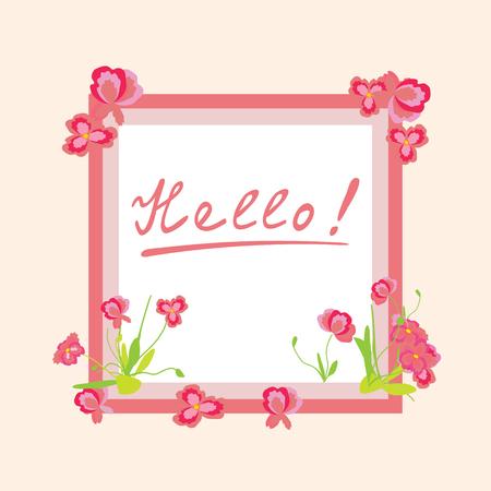 Marco Delicado, Saludo. Para Las Invitaciones De Boda, Tarjetas De ...