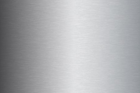 steel sheet: Brushed metal stainless steel texture vector illustration