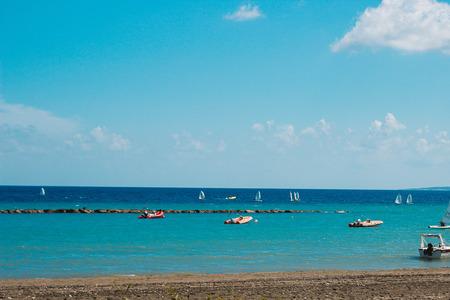 limassol: beach in Limassol