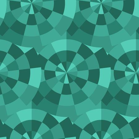 tessellated: seamless mosaic pattern. Colorful endless tessellated background Illustration