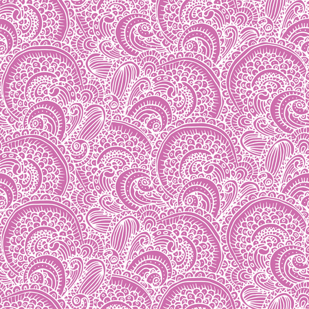 Ethnic tribal abstract seamless background pattern in vector. Illustration