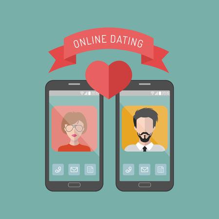 Online-Dating sollte ich ihn fragen