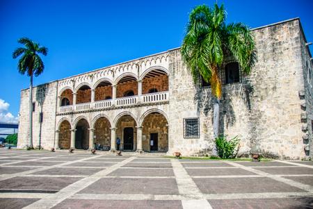 Alcazar de Colon in Santo Domingo Dominican Republic 写真素材
