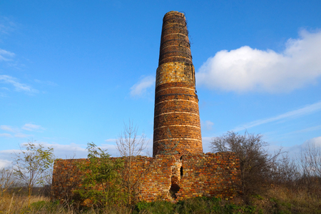 A lime kiln is a kiln used for the calcination of limestone (Poland)