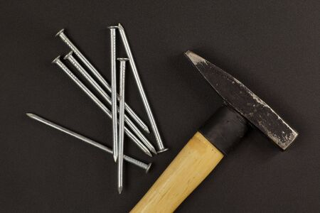 Hammer and nails. The simplest tools.