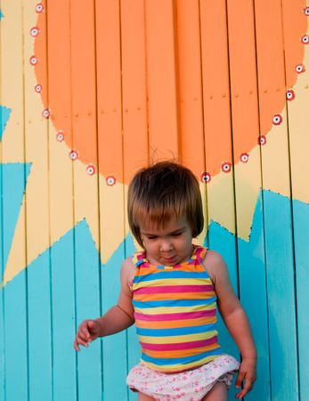 About nature, children and fun under the sun Stock Photo - 4601762