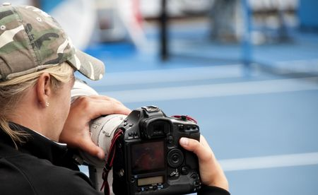 Photos from a great international sporting  event - people, moments and objects