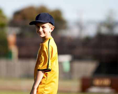 Visual stories about children, their cricket games, trainings and dreams Stock Photo