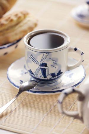 morning tea: Morning tea Stock Photo