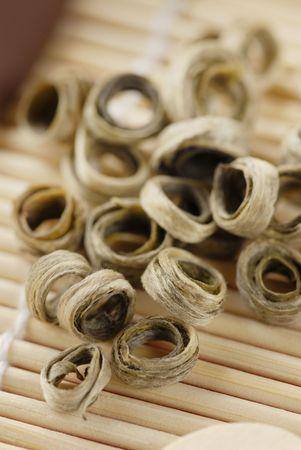 ringlet: White tea, ringlet Stock Photo
