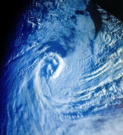 大西洋の熱帯サイクロン 写真素材