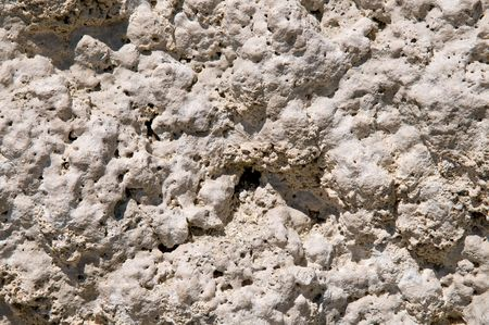rock formation: Tufa rock formation closeup background - Mono lake, California