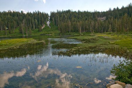 Serene View -Mammoth lakes, California Stock Photo - 3339218
