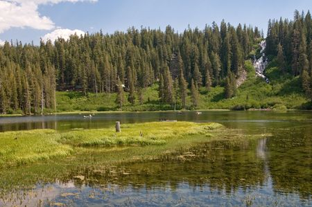 mammoth lakes: Idylic view - Mammoth lakes, California Stock Photo