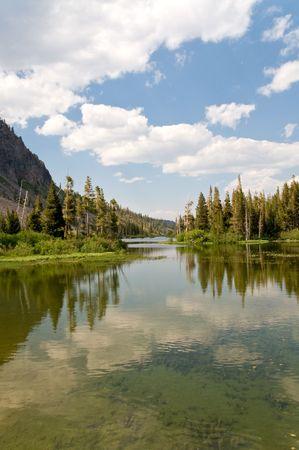 Serene View - Mammoth lakes, California Stock Photo - 3339211