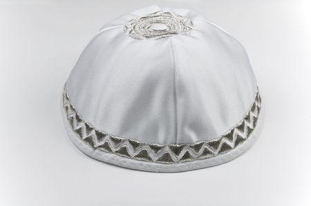 yarmulke:  Yarmulke - traditional Jewish headwear