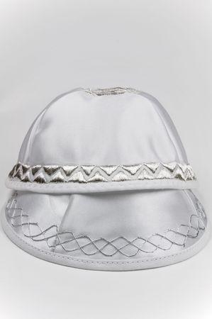 yarmulke: Two Yarmulkes - traditional Jewish headwear