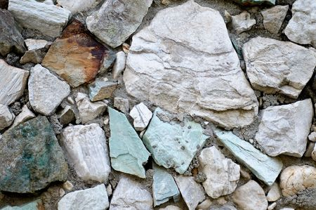Meteorizado muro de piedra - la textura de fondo Foto de archivo - 3528602