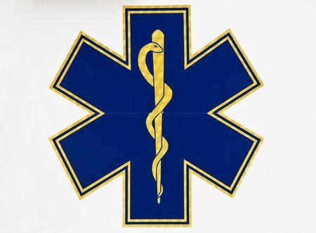 Medical caduceus sign photo