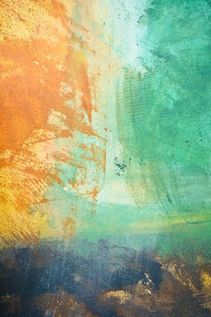 stippled: Abstract grunge painted stucco wall - background texture