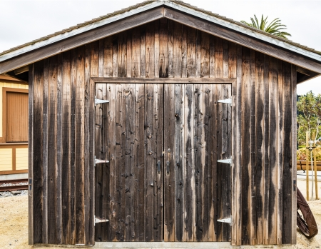 metal structure: Rustic wooden traditional barn